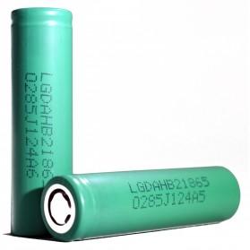 LG HB2 18650 Baterai Li-ion 30A 1500mAh 3.7V - Green