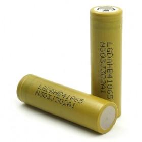 LG HB4 18650 Baterai Li-ion 30A 1500mAh 3.7V - Yellow