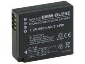 Baterai Kamera Panasonic DMW-BLE9 DMW-BLE9PP DMW-BLE9GK (Replika 1:1) - Black - 2