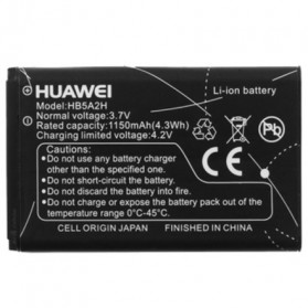 Baterai for Huawei Mobile Wireless Modem 1150 mAh - HB5A2H / HB5A2 - Black