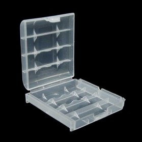 Case Baterai Transparan Untuk 4x14500 - CY045 - Transparent - 3