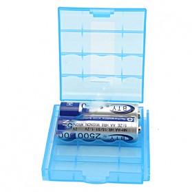 Case Baterai Transparan Untuk 4x14500 - CY045 - Blue - 4