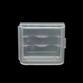 Casing Baterai Transparent for 2x16340 - Transparent
