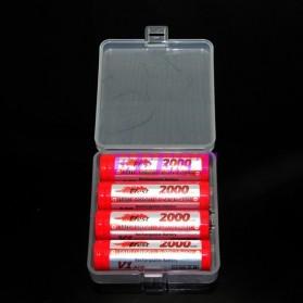 YCDC Casing Baterai Transparan untuk 4x18650 - ZC811500 - Transparent - 2