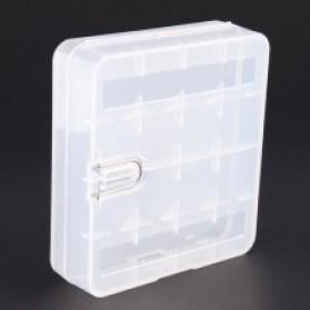 YCDC Casing Baterai Transparan untuk 4x18650 - ZC811500 - Transparent - 3