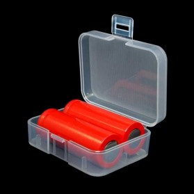 Transparent Battery Case for 2x18350 - Transparent