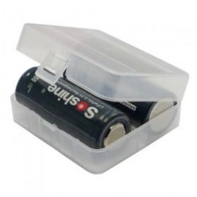 Transparent Battery Case for 2x26650 - Transparent - 2
