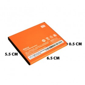 Baterai Xiaomi Redmi 2 2200mAh - BM44 (Replika 1:1) - Orange - 6