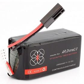 Baterai Li-Po Parrot AR.Drone 2.0 11.1V 2500mAh 20C - Black