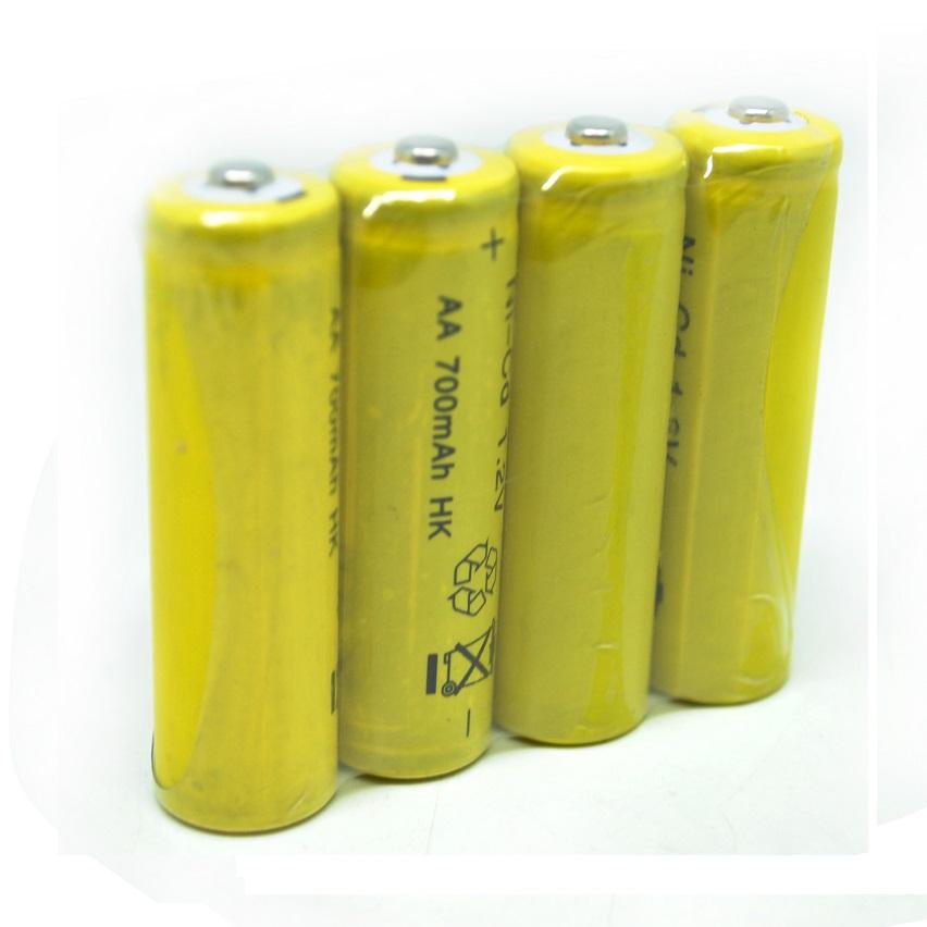 Rechargeable Battery Ni Cd Aa 700mah 12v 4 Pack