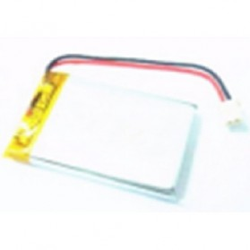 Rechargeable Lithium Polymer Battery 3.7V - 053040 - Silver