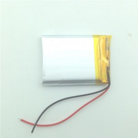 Rechargeable Lithium Polymer Battery 3.7V - 053040 - Silver - 2
