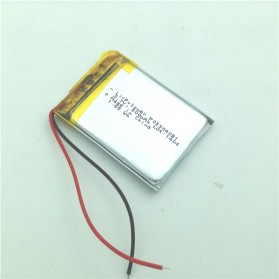 Rechargeable Lithium Polymer Battery 3.7V - 053040 - Silver - 3