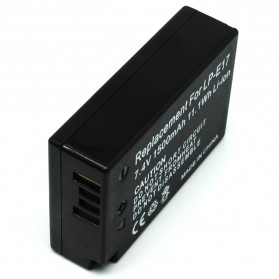 Battery Replacement for Canon LP-E17 1500mAh - Black - 2