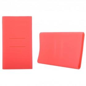 Cover Silikon Xiaomi Power Bank 5000mAh - Pink