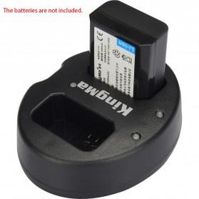 Kingma Charger Baterai 2 Slot for Sony A5000 A5100 A6000 A7R NEX6 5T 5R 5N - NP-FW50 - Black - 2