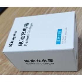 KingMa Charger Baterai 3 Slot untuk Xiaomi Yi 2 4K - BM038 - Black - 7