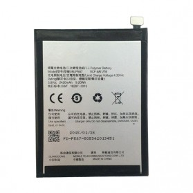 Battery Replacement for OPPO R8200 R8205 R5207 R1C 2420mAh - BLP587 (OEM) - Black