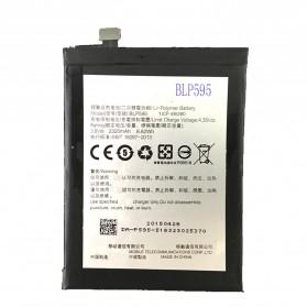 Baterai OPPO R7 R7T R7C 2320mAh - BLP595 (Replika 1:1) - Black