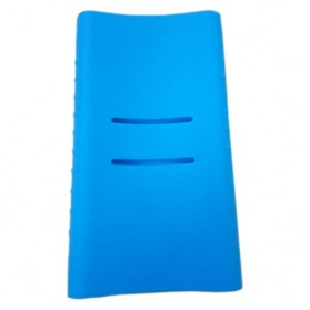 Silicone Case Cover for Xiaomi Power Bank 10000mAh 2nd Generation (OEM) - Blue - 2