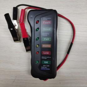 Tirol Tester Baterai Digital 12V 6 LED - BJ-803 - Black - 2