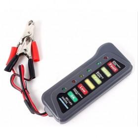 Tirol Tester Baterai Digital 12V 6 LED - BJ-803 - Black - 6
