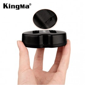 Kingma Charger Baterai 2 Slot Canon G1X Mark II N100 Mini X - NB-12L - Black - 4