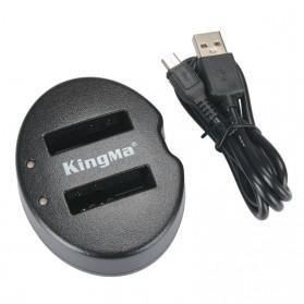 Kingma Charger Baterai 2 Slot Nikon S9700s S8200 S9600 P330 - EN-EL12 - Black - 2