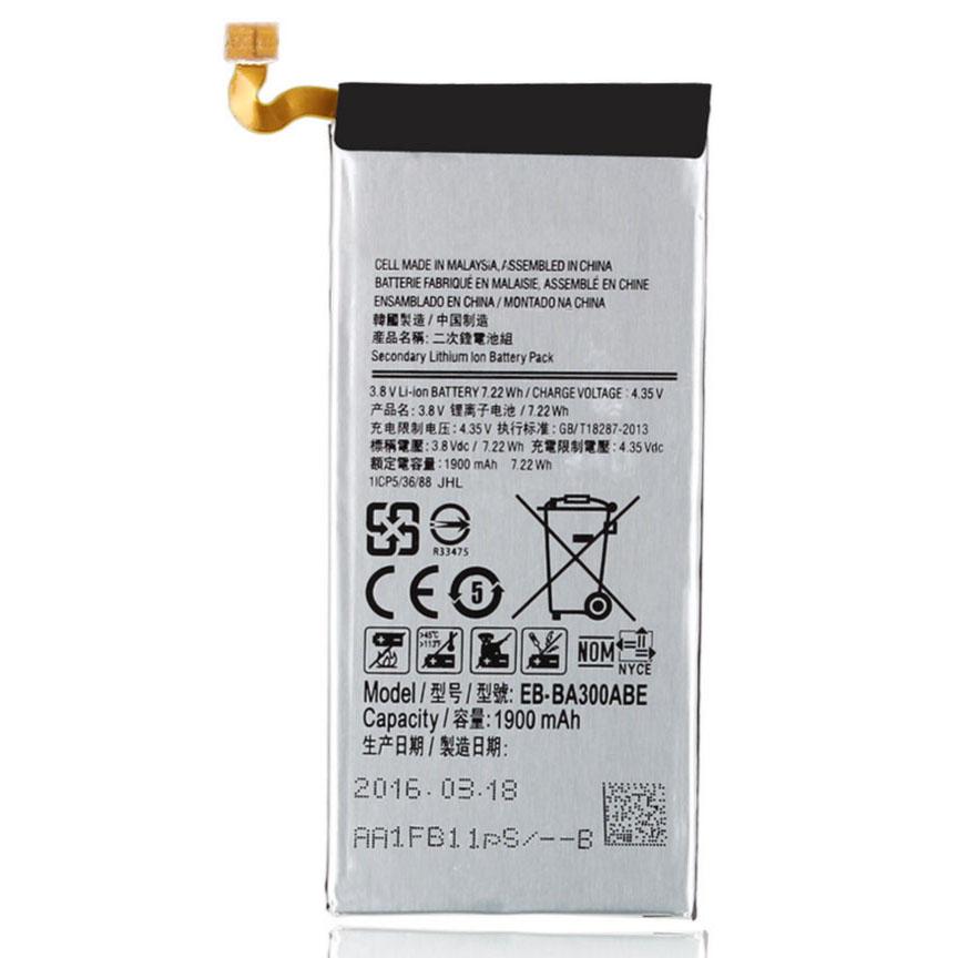 Baterai Samsung Galaxy A3 2015 1900mAh