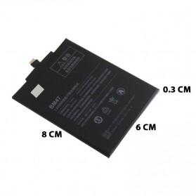 Baterai Xiaomi Redmi 3 & Redmi 4x 4000mAh - BM47 - Black - 5