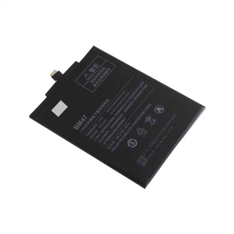 ... Baterai Xiaomi Redmi 3 & Redmi 4x 4000mAh - BM47 - Black - 3 ...