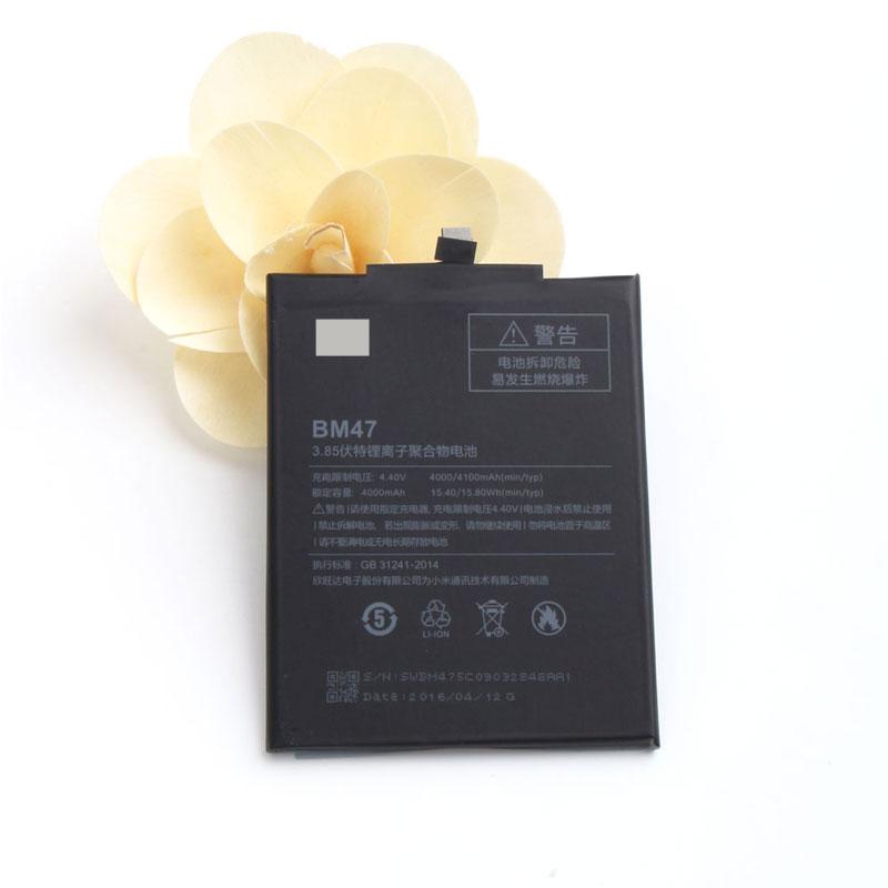 Baterai Xiaomi Redmi 3   Redmi 4x 4000mAh - BM47 - Black - 4 ... 4a20f13e34