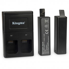 Kingma Baterai DJI Osmo 2 PCS dengan Charger Baterai 2 Slot - BM036 - Black - 2