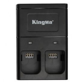 Kingma Baterai DJI Osmo 2 PCS dengan Charger Baterai 2 Slot - BM036 - Black - 3