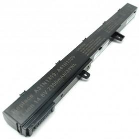 Baterai Laptop Asus D550M F551M X551M X551C 2300mAh - Black - 2