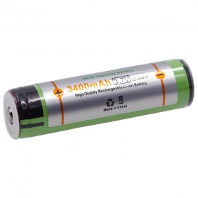 VariCore 18650 Rechargeable Li-ion Battery 3400mAh 3.7V Button Top - 2