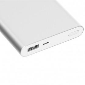 Xiaomi Power Bank 10000mAh 2nd Generation (Replika 1:1) - Silver - 2