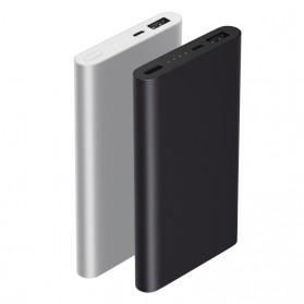 Xiaomi Power Bank 10000mAh 2nd Generation (Replika 1:1) - Silver - 4