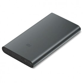 Xiaomi Power Bank 10000mAh 2nd Generation (Replika 1:1) - Black - 2