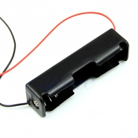 Hiperdeal DIY 18650 Cell Charger Without Lid 1 Cell - BC-001 - Black