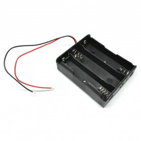 DIY 18650 Cell Charger Without Lid 3 Cell - BC-003 - Black - 2