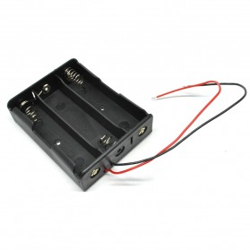 DIY 18650 Cell Charger Without Lid 3 Cell - BC-003 - Black - 3