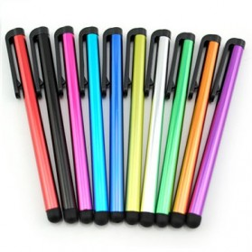 Stylus Aluminium untuk Smartphone & Tablet - B70 - Black - 6