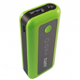 Taff Power Bank 5200mAh Model MP5 for Tablet and Smartphone ( MP5 ) - Green/Black