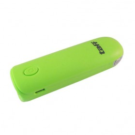 Taff Power Bank 2600mAh Model MP4 for Smartphone - Green