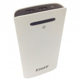 Taff Power Bank 18000mAh Model MP18 for Tablet and Smartphone - White