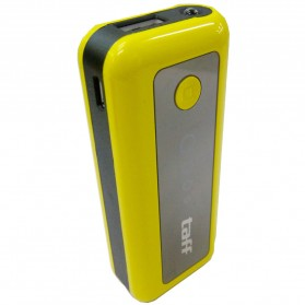 Taff Power Bank 5200mAh Model MP5 (No Box) for Tablet and Smartphone ( MP5 ) - Yellow with Black Side