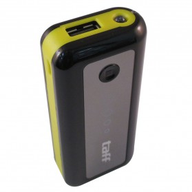 Baterai & Charger - Taff Power Bank 5200mAh Model MP5 (No Box) for Tablet and Smartphone ( MP5 ) - Black/Yellow