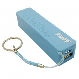 Taff Power Bank 2400mAh Model Keychain MP12 for Smartphone - Baby Blue