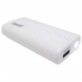Taff Power Bank 4400mAh for Smartphone - MP20 - Marble White